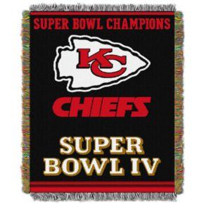 Kansas City Chiefs Commemorative Throw Blanket by Northwest