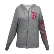 Boston Red Sox Distressed Hoodie - Women's
