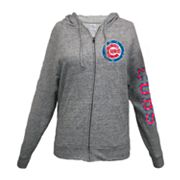 Chicago Cubs Distressed Hoodie - Women's