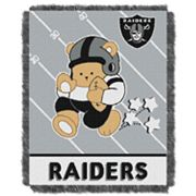 Oakland Raiders Baby Jacquard Throw