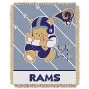 St. Louis Rams Baby Jacquard Throw
