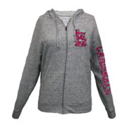 St. Louis Cardinals Distressed Hoodie - Women's