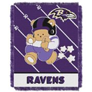 Baltimore Ravens Baby Jacquard Throw