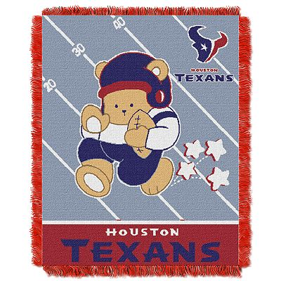 Houston Texans Baby Jacquard Throw