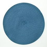 Food Network Tricolor Round Placemat