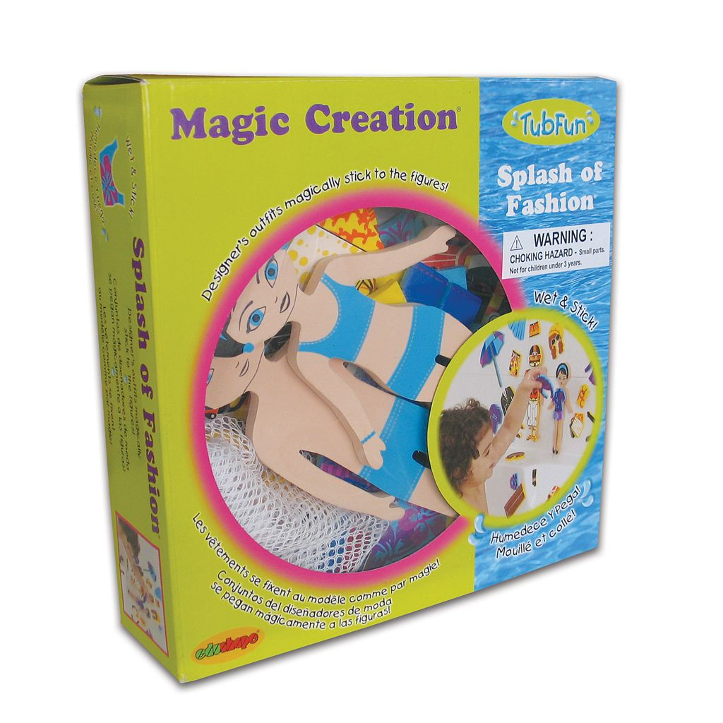 Edushape Magic Creation TubFun Splash of Fashion