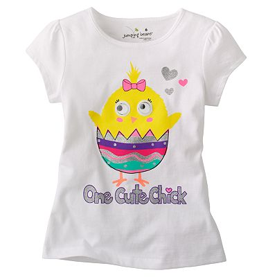 Jumping Beans One Cute Chick Easter Tee - Girls 4-7