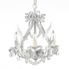 Gallery Wrought Iron Mini-Chandelier