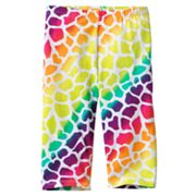 Jumping Beans Rainbow Giraffe Pedal Pusher Leggings - Girls 4-7