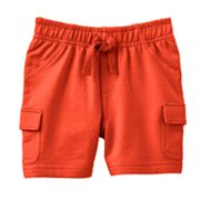 Jumping Beans French Terry Cargo Shorts - Baby