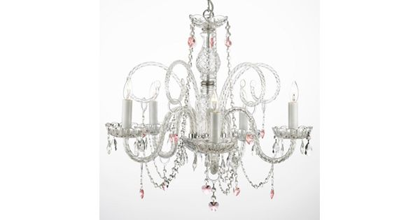 Crystal Chandelier Youtube: Gallery Venetian Crystal 5-Light Heart Chandelier