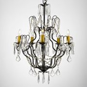 Gallery Wrought Iron 5-Light Chandelier