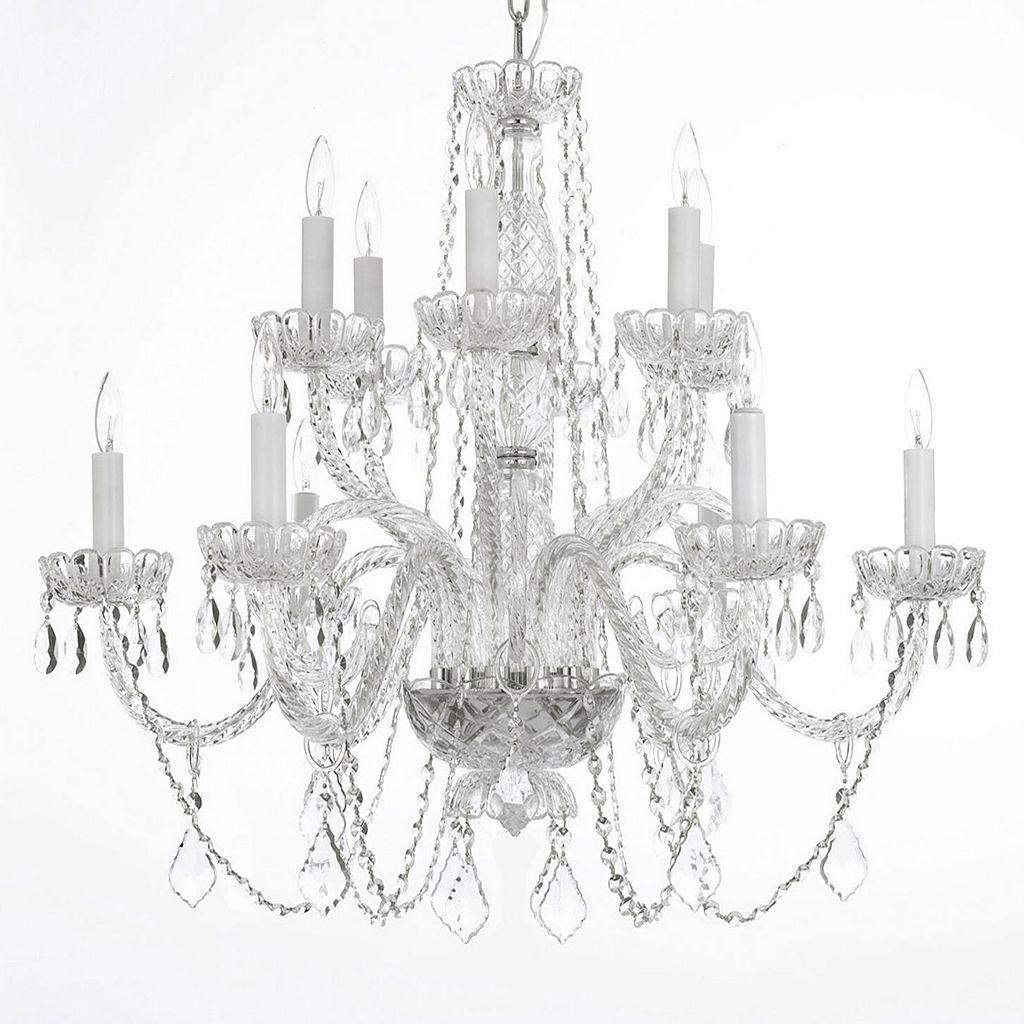 Gallery Venetian Crystal 12-Light Chandelier