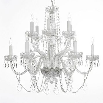 Gallery Venetian Crystal 12-Light Chandelier