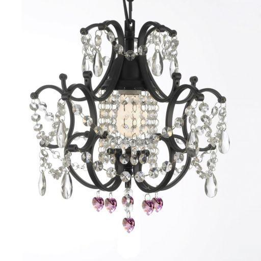 Gallery Versailles Crystal Heart Mini-Chandelier