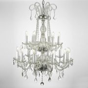 Gallery Crystal 18-Light Tiered Chandelier