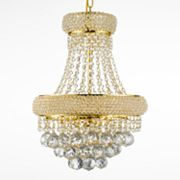 Gallery Empire Crystal 3-Light Chandelier