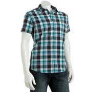 Urban Pipeline Short-Sleeved Plaid Shirt - Men