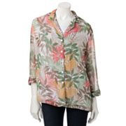 Cathy Daniels Leaf Shirt Set