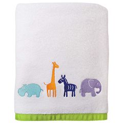 Allure Home Creations Safari Animal Bath Towel