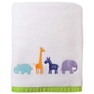 Allure Home Creations Safari Animal Bath Towel
