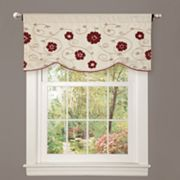"Lush Decor Royal Embrace Window Valance - 18"" x 42"""