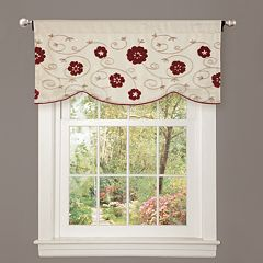 Lush Decor Royal Embrace Window Valance - 18' x 42'