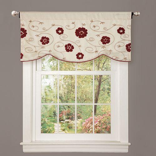 "Lush Decor Royal Embrace Window Valance - 18"" x 42"""