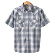 SONOMA life + style Plaid Western Casual Button-Down Shirt - Big and Tall
