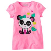 Jumping Beans Panda and Bird Tee - Girls 4-7