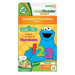 Sesame Street Tag Junior 'Cookie's First Book of Numbers Book' by LeapFrog