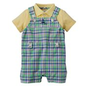 Chaps Polo and Overalls Set - Baby