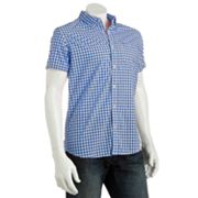 Urban Pipeline Gingham Plaid Shirt - Men