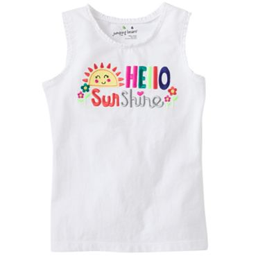 Jumping Beans Hello Sunshine Tank - Girls 4-7