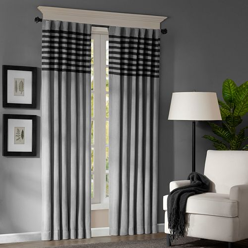"Madison Park 2-pack Meyers Window Curtains - 42"" x 84"""