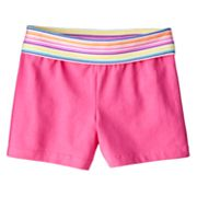 Jumping Beans Striped Yoga Shorts - Girls 4-7