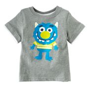 Jumping Beans Mock-Layer Monster Tee - Baby
