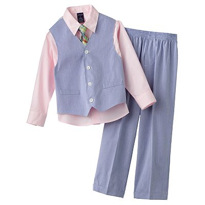 Arrow Pincord Vest Set - Boys 4-7