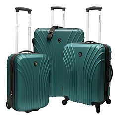 Traveler's Choice Cape Verde 3 pc Hardside Luggage Set