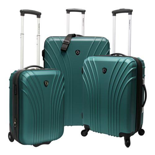 Traveler's Choice Luggage, Cape Verde 3-pc. Expandable Hardside Luggage Set