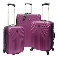 Traveler's Choice Cape Verde 3-Piece Hardside Luggage Set