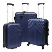 Traveler's Choice Cape Verde 3 pc Hardside Luggage Set
