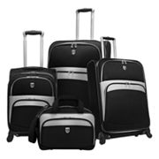 Beverly Hills Country Club 4-pc. Luggage Set