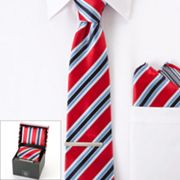 Bill Robinson Striped Tie Boxed Set