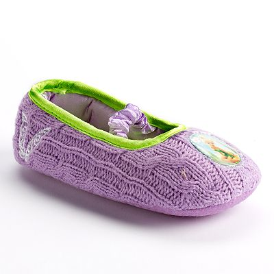 Disney Fairies Knit Slipper - Toddler Girls