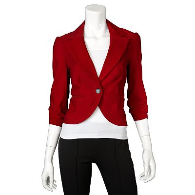 IZ Byer California Crop Blazer