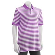 Chaps Striped Polo