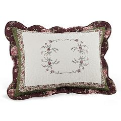Peking Brooke Quilted Standard Sham
