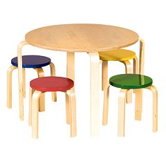 Guidecraft Nordic Table & Chair Set