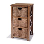 SONOMA life + style 3-Drawer Cameron Storage Tower